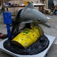 NOT Coming Soon to SeaWorld: Banksy's Marine Mammal Amusement Ride