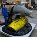 NOT Coming Soon to SeaWorld: Banksy's Marine Mammal Amusement Ride