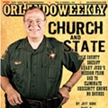 "Polk County Sheriff Grady Judd sued by atheist activist citing ""pervasive religiosity"""