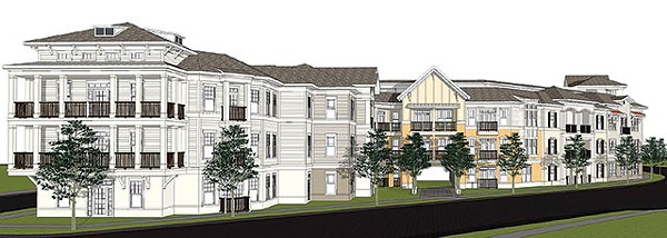 RENDERING OF THE PRINCETON AT COLLEGE PARK VIA POLLACK SHORES