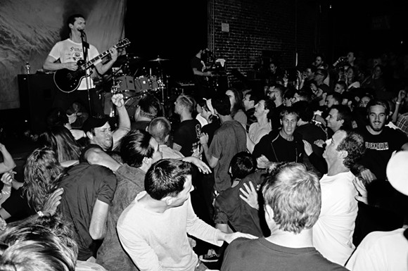 Propagandhi at the Social - JIM LEATHERMAN