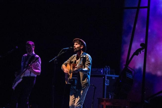 Ray LaMontagne at Bob Carr PAC (photo by Christopher Garcia)