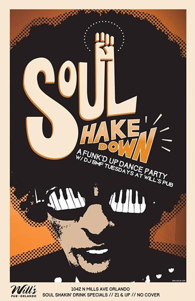 Related: This Little Underground: Tue night postscript (Soul Shakedown w/DJ BMF @ Will's) - ART BY ERIN NOLAN