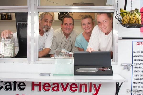 Returning Top Sales winner Café Heavenly