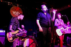 Richard Sherfey & All God's Children at Will's Pub (photo by Ashley Belanger)