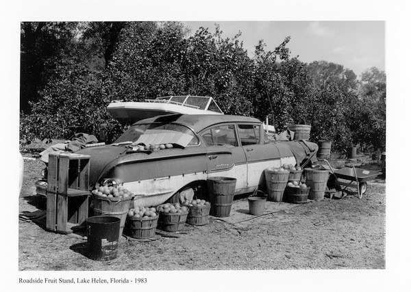 Roadside Fruit Stand, Lake Helen, Florida – 1983