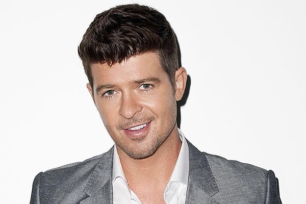 Robin Thicke has recheduled his Universal Orlando Mardi Gras appearance for June 7.
