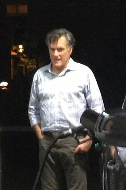 Romney: Disheveled in that Kryptonian sort of way