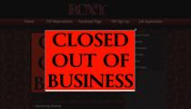 Roxy nightclub has closed