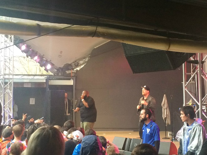 Run the Jewels at SXSW 2015 - PHOTO BY NICK MCGREGOR