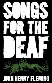 'SONGS FOR THE DEAF' COVER ART BY LESLEY SILVIA