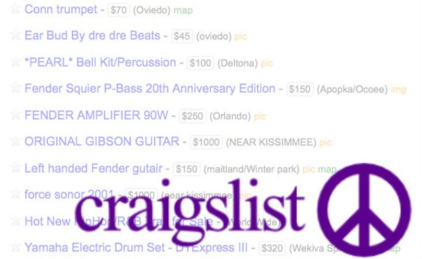 Crazy Craigslist thread in musical instrument sale section ...