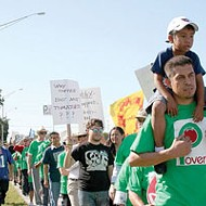 South Florida farmworkers return to Orlando to campaign, protest against Publix