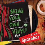 Spin and win: Uncle Tony's giveaway at Spacebar's Bring Your Own Vinyl tonight