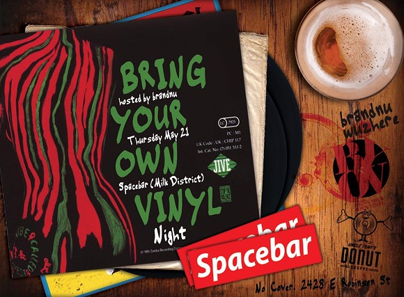 IMAGE VIA BRING YOUR OWN VINYL EVENT ON FACEBOOK