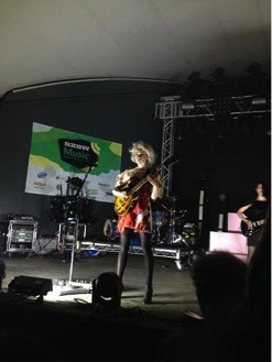 St. Vincent at SXSW 2014