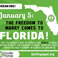 Starting on Jan. 5, judge rules, gay couples can legally marry in Florida