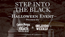Step into the Black this Halloween with Orlando Weekly!