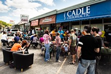 Street Party at Bikes, Beans and Bordeaux