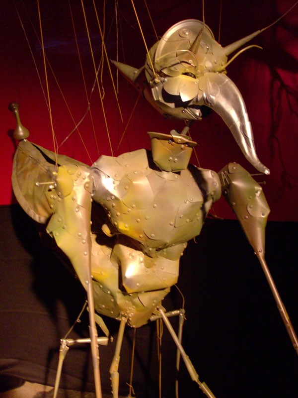 Stringers: Puppets are elevated to high art in this show at the Gallery at Avalon Island