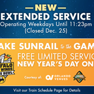 SunRail's extended night service starts today!