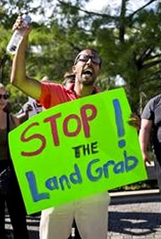 Tea Party Miami hires actors to protest environmental land buy