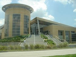The Bynes Shrine at 4000 Central Florida Blvd, UCF. Image swiped from Wikipedia.