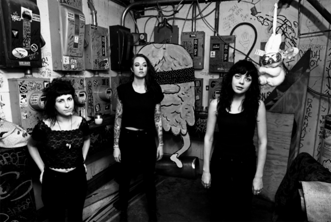The Coathangers (photo credit: Ryan Russell)