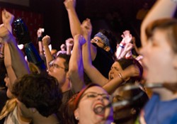 The crowd during the Protomen Saturday night