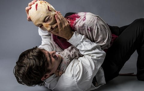 The Death of Brian: A Zombie Odyssey at the 2014 Orlando Fringe (Photograph courtesy of Kasandra Kincaid)