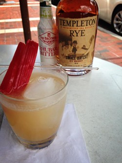 TEMPLETON RYE COCKTAIL BY LUMA ON PARK