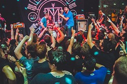 The Menzingers at the Social (photo by James Dechert)