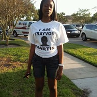 Sights from the start of the Rally for Trayvon Martin