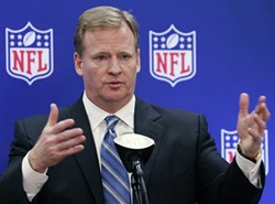 The NFL's Roger Goodell will get to the sissies as soon as he's done with those damn Injuns.