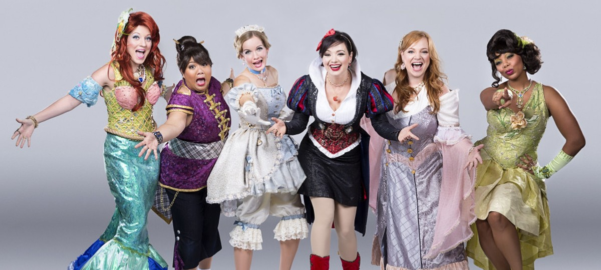 The original Princesses! (photo via DisenchantedMusical.com)