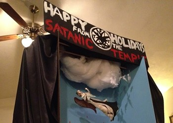 Letters to a Satanist: Do you have a statement about the destruction of your holiday display at the Florida Capitol?