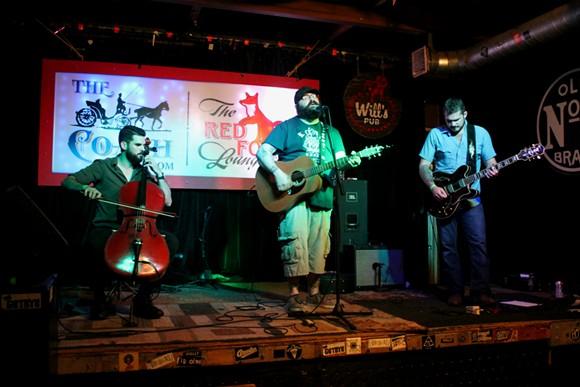 Johnny Knuckles & the Handsome Bastards at Will's Pub - ASHLEY BELANGER
