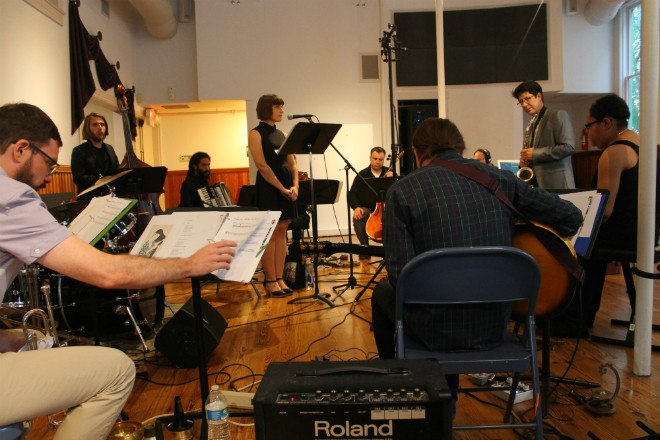 Jim Ivy's Tangled Bell Ensemble at the In-Between Series - ASHLEY BELANGER