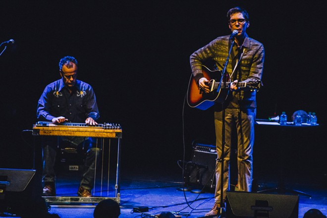 Justin Townes Earle at the Dr. Phillips Center - JAMES DECHERT