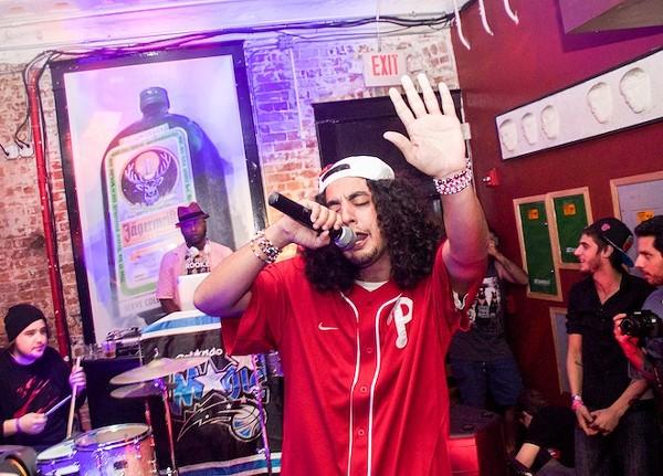 Turnt up: Photos from Talib Kweli's music video shoot at Bullitt Bar