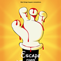 "Two ""Escape From Tomorrow"" posters paint a grim picture of Disney World"