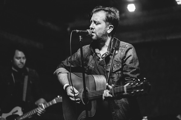 This ship of ours: Photos from the Damnwells, Mike Dunn and Joshua Fletcher at Backbooth - PHOTO BY JAMES DECHERT