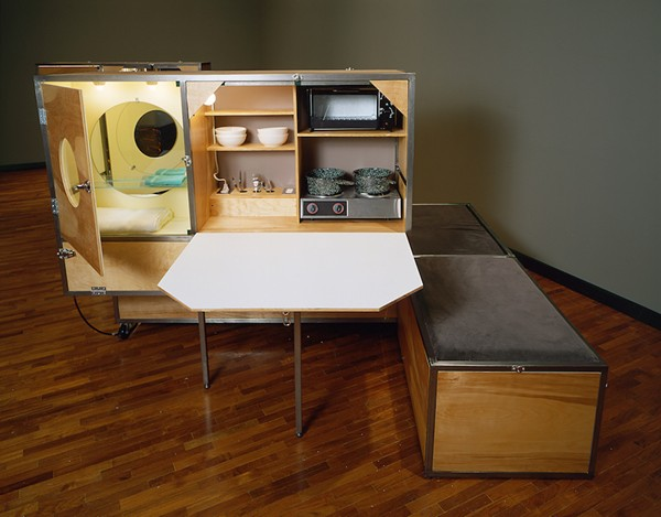 Andrea Zittel, 'A-Z 1994 Living Unit II,' from Baggage Claims, at Orlando Museum of Art through Dec. 31