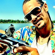Catch a screening of 'Spring Breakers' mere hours before Riff Raff takes the stage this Sunday