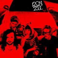 Miami post-punk quartet Donzii darkens the door of Lil Indies this weekend