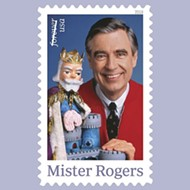 The Mr. Rogers stamp is finally here