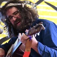 Lou Barlow rocks a living room in Audubon Park