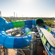 SeaWorld's latest attraction Ray Rush just opened at Aquatica