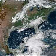 Here's Alberto, the first storm of the 2018 hurricane season