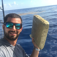 Florida fisherman catches marijuana brick, calls it an 'early birthday gift from Pablo Escobar'